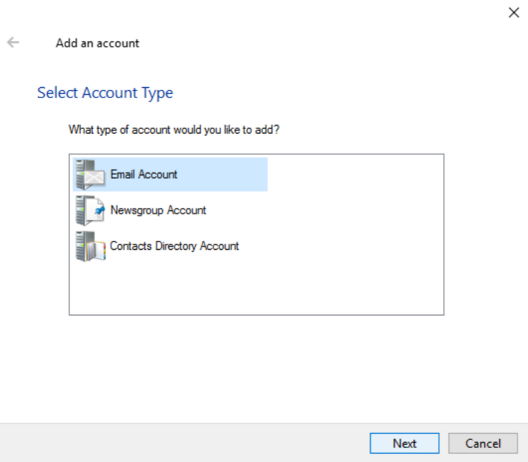 Windows Live Mail 2012 Setup (Primary) - Element 74 Support